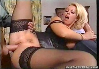 Clothed Hardcore  Pornstar Stockings Threesome Vintage