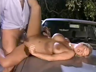 Amazing Big Tits Car Cute European Hardcore Italian  Outdoor Pornstar Vintage