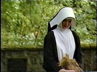 nuns castigate and humiliate a youthful beauty