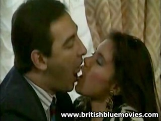 British European Kissing  Vintage