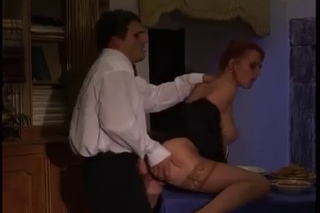 Clothed Doggystyle European Italian  Pornstar Stockings Vintage