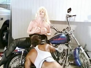 Big Tits Blonde Interracial Latex Licking  Pornstar Vintage