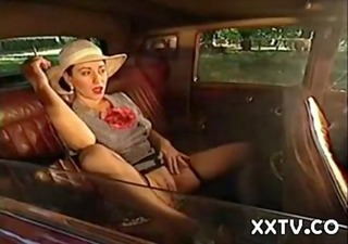 Car  Pussy Smoking Vintage Wife