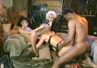 Groupsex Interracial  Pornstar Vintage