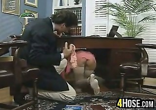 Office Secretary Upskirt Vintage