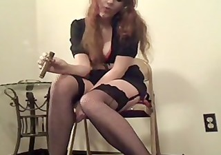 Fetish Smoking Stockings Vintage