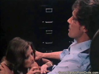 Blowjob Clothed  Office Secretary Vintage