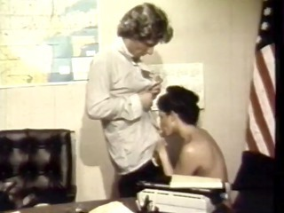 Blowjob  Office Vintage