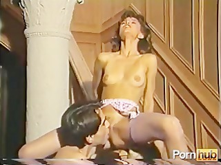 Licking  Skinny Small Tits Stockings Vintage