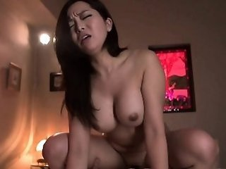 Asian Brunette  Natural Riding