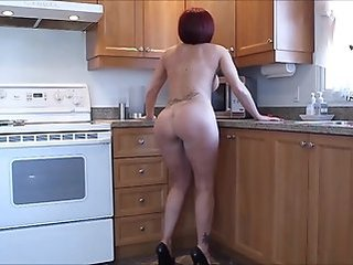 Ass Kitchen Mature Redhead Solo Tattoo Wife