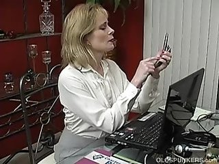 Mature Mom Office
