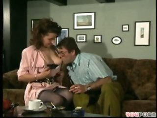European German Licking  Older Stockings Vintage Wife