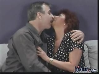 Kissing Mature Older Wife