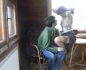 Amateur Homemade  Mom Old and Young Russian Stockings