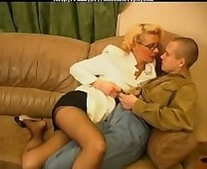 Amateur Blonde Glasses Mature Pantyhose Russian Teacher