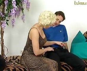Blonde Mature Mom Old and Young