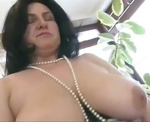 Big Tits Brunette Chubby Mature Natural