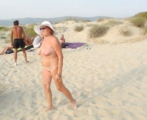 Spectacular old whore continues to seduce naked pussy boys.