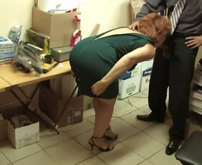 Amateur Blowjob Clothed Mature Office