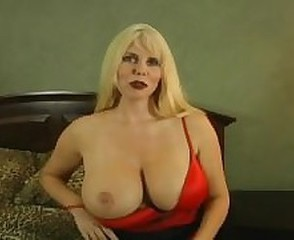 Big Tits Blonde Mature  Natural Pornstar Stripper
