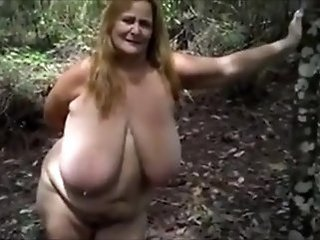 Amateur Big Tits Chubby Mature Natural Outdoor
