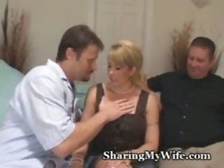 busty   couple   cuckold   mature   voyeur   wife