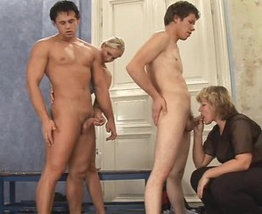 What is the Name of Mature Blonde Czech CFNM Chubby MILF ?