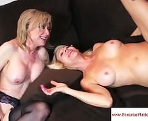 Mature Pornstar Threesome