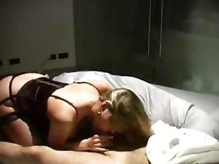 Amateur Blowjob Homemade Lingerie  Wife
