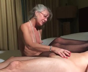 mommy footjob