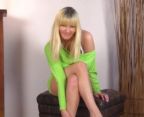 Blonde Cute Mature