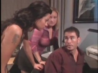 Pornstar Tattoo Threesome Vintage