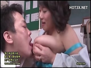 Asian Big Tits Japanese Licking  Mom Natural Nipples Old and Young School Teacher