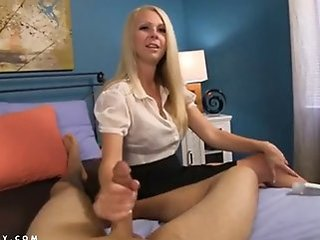 Amazing Cute Handjob  Mom Old and Young Pov