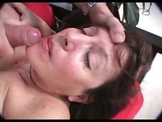 Cumshot Facial Mature Mom