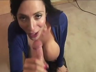 Big Tits Blowjob  Pov Wife