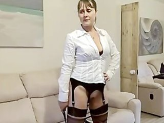 extremely impressive wife gang-banged into galoshes & nylons