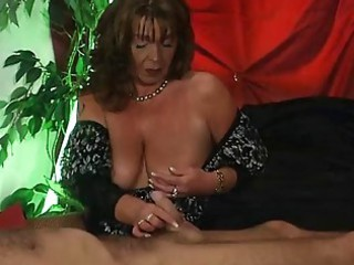European German Handjob Mature  Small cock Wife