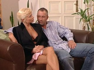 Blonde European German Mature Older Wife