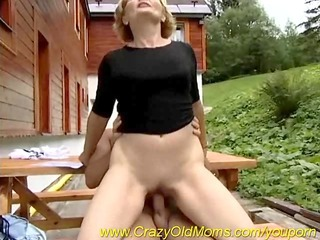 Clothed Farm Mature Outdoor Riding