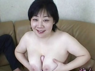 Asian Big Tits Japanese Mature Natural Toy