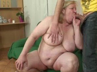 large old is banged by her son on law