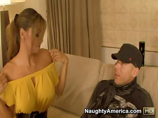 desperate latina angel esperanza gomez eats his strong rod and takes nailed