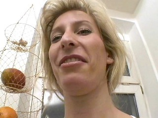 milfy german blonde shaves and likes sascha production