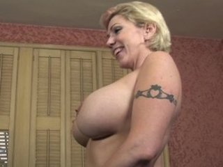 Big Tits Mature Mom Tattoo