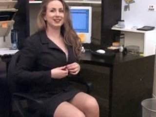 Cute  Office Secretary Stripper