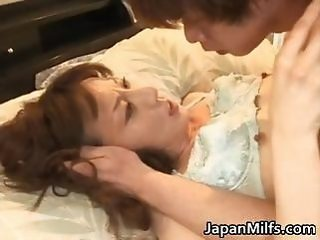 Asian Japanese Mature Mom Nipples Old and Young Small Tits