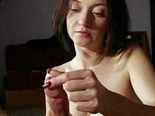 Amateur Handjob Homemade  Pov