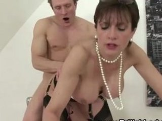 Big Tits British Doggystyle European Hardcore  Pornstar Stockings